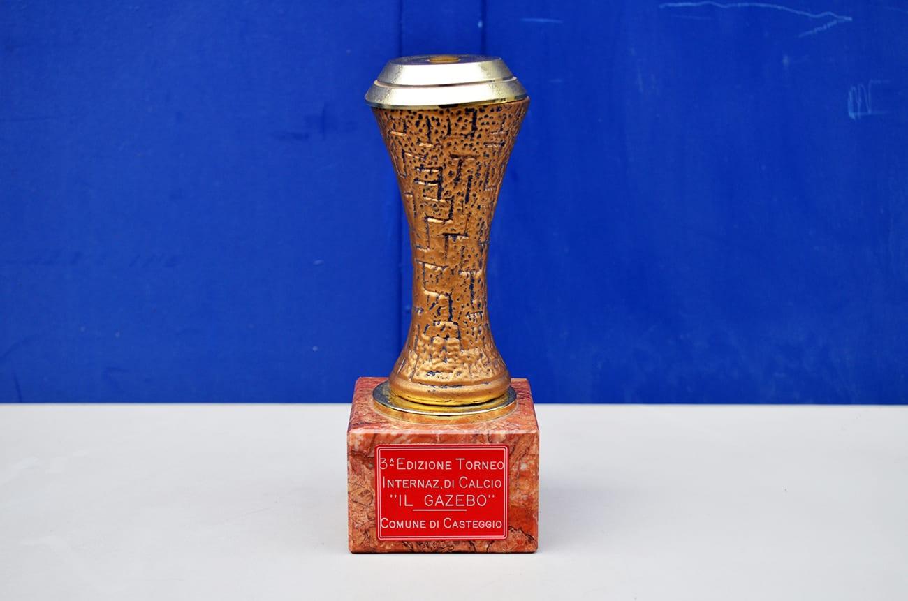 LGFB per Trofeo della Coppa UEFA Trofeo di Calcio Souvenir Calcio Coppa Fan Memorabilia Decorazione Artigianato Modello in Resina repliche Anti-corrosione Non dissolvenza Fa